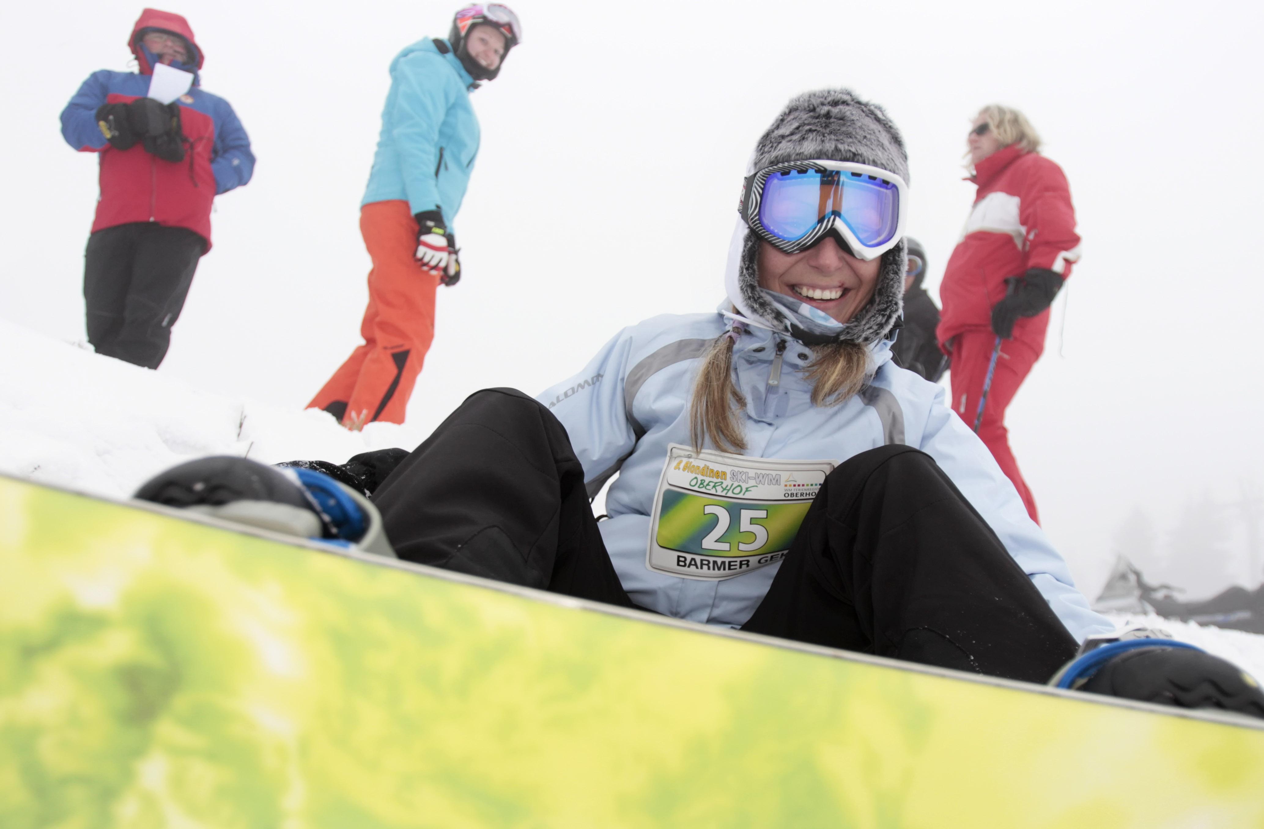 Snowboarden in Oberhof