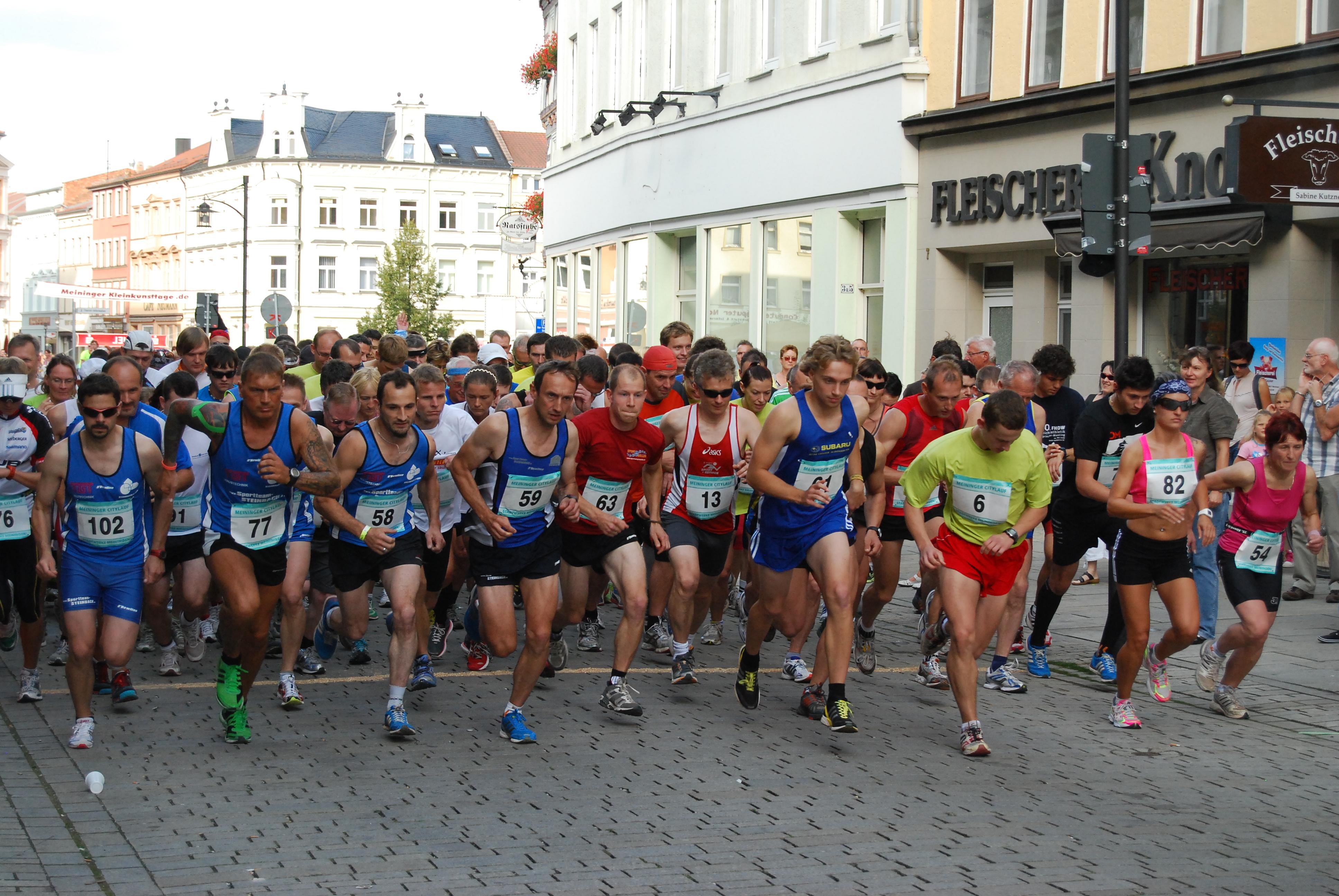 Bild: Meininger Citylauf