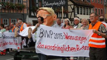 Kreistags-Resolution kritisiert BVWP scharf
