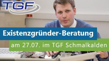 Beratung für Gründer im TGF Schmalkalden