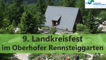 9. Landkreisfest im Oberhofer Rennsteiggarten