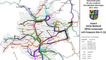 Nahverkehrsplan 2017 bis 2021- Entwurf