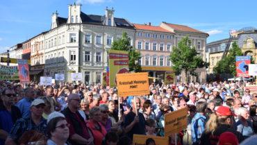 Rückblick: Montagsdemo in Meiningen
