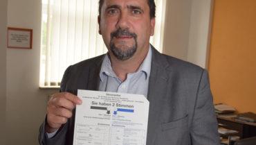 Wahlaufruf des Landrats: Stimme nicht verschenken