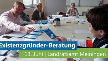 Existenzgründer-Sprechtag am 13. Juni 2018