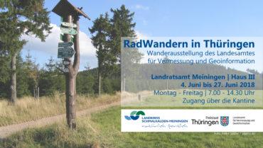 """Ausstellung: """"RadWandern in Thüringen"""""""