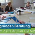 Existenzgründer-Sprechtag am 23.01.2019 im TGF Schmalkalden