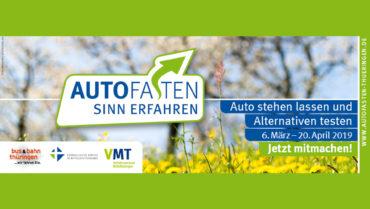 Start der Fastenzeit: Aktion Autofasten Thüringen
