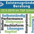Gründerberatung 22.05.19 TGF Schmalkalden