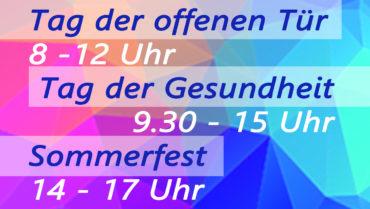 Landkreis-Jubiläum mit Veranstaltungsmarathon und  Ministerbesuchen
