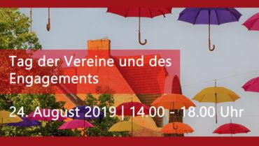 Tag der Vereine und des Engagements auf dem Markplatz in Meiningen