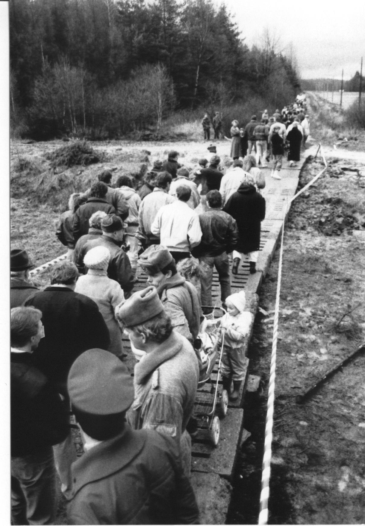 Grenzöffnung Filke/Helmershausen