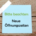 Jobcenter Schmalkalden: Neue Öffnungszeiten