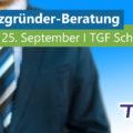 Nächster Existenzgründer-Sprechtag am 25. September 2019  im TGF Schmalkalden