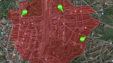 +++ Fliegerbombe in Meiningen gefunden +++ derzeit keine akute Gefahr für Bevölkerung +++ Evakuierung läuft seit heute 9 Uhr +++