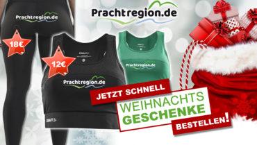 Pünktlich zu Weihnachten: Neue Prachtregion-Outfits im Fanshop