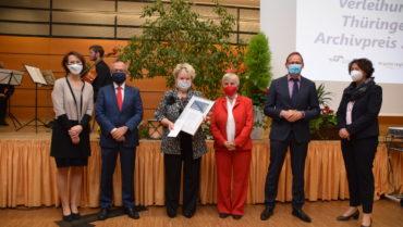 Große Ehre: Kreisarchiv erhält Thüringer Archivpreis