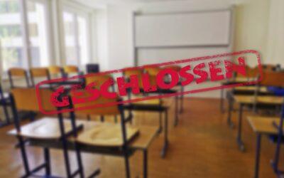 Neues Bundesinfektionsschutzgesetz: Schulen und Kitas müssen ab Montag schließen